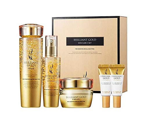A.H.C 黃金三件套Brilliant Gold Skin Care
