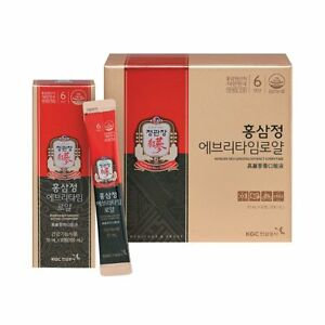 Korean Red Ginseng Extract Eveytime正官庄高麗嵾膏口服液 30包裝