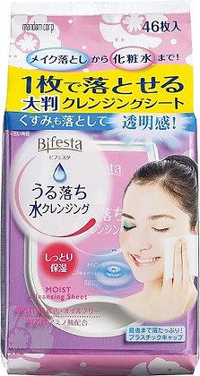 Bifesta Cleansing Sheet Moist 46枚 卸妝巾粉色