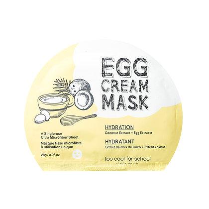 Too Cool For School Egg Cream Mask 雞蛋面膜