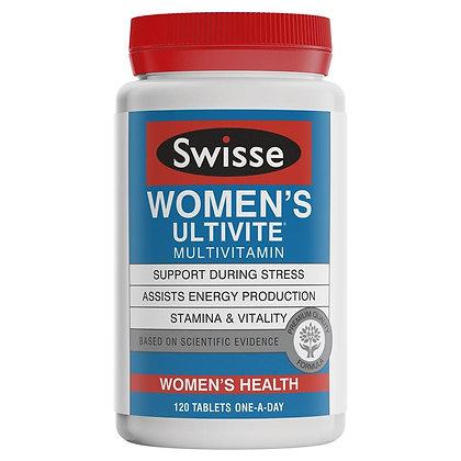 Swisse Women's Ultivite 120 Tablets 女士維生素