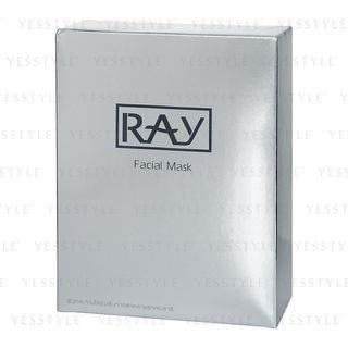 Ray Facial Mask 泰國Ray 蠶絲面膜銀色