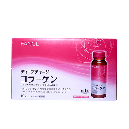 FANCL DEEP CHARGE COLLAGEN 膠原蛋白口服液 粉盒
