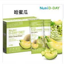 Nutri D-Day Sweet Melon Yogurt Diet Shake Powder哈蜜瓜減肥奶昔代餐