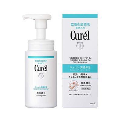Curel Intensive Moisture Care Foaming Wash 潤浸保濕豐盈泡沫潔面乳150ml