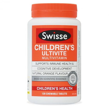 Swisse Children's Ultivite Chewable 兒童復合維生素 120粒