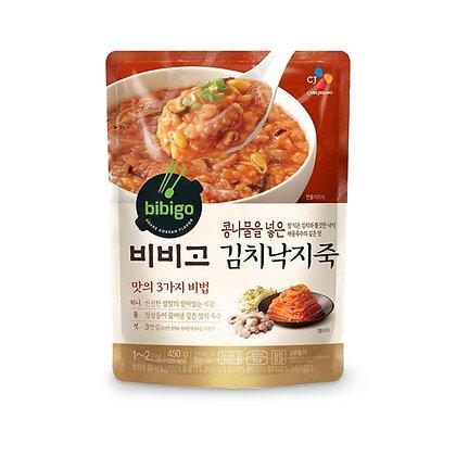 Bibigo Rice Porridge With Octopus & Kimchi 泡菜八爪魚粥