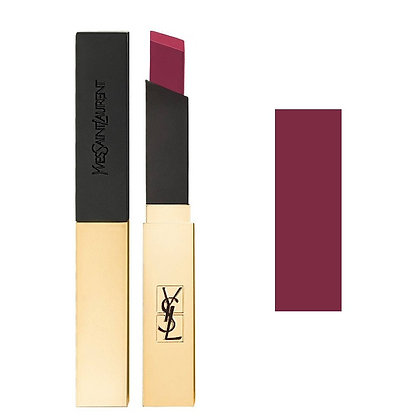 YSL Rouge Pur Couture The Slim Leather-Matte Lipstick #16 啞緻小金管唇膏