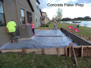 Elevated Concrete Slab