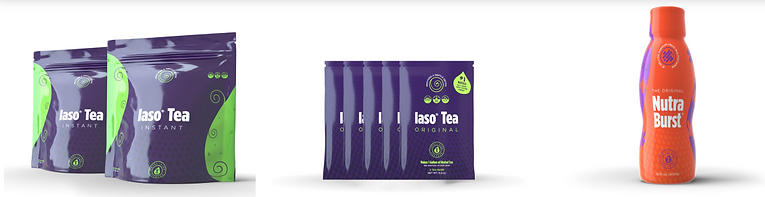 CBD Tea, Iaso Tea. Skinny Tea, Nutrabrust
