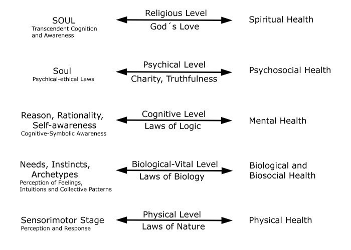 K6 The Five Levels of Holistic Health