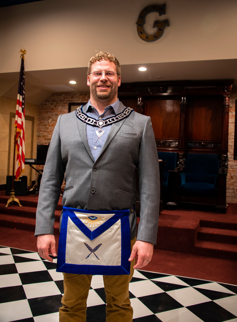 Worshipful Brother Carson Gorst