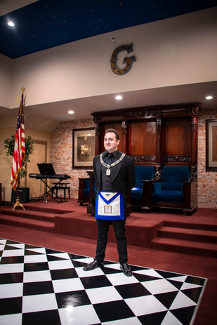 Worshipful Brother Lucas Walsh
