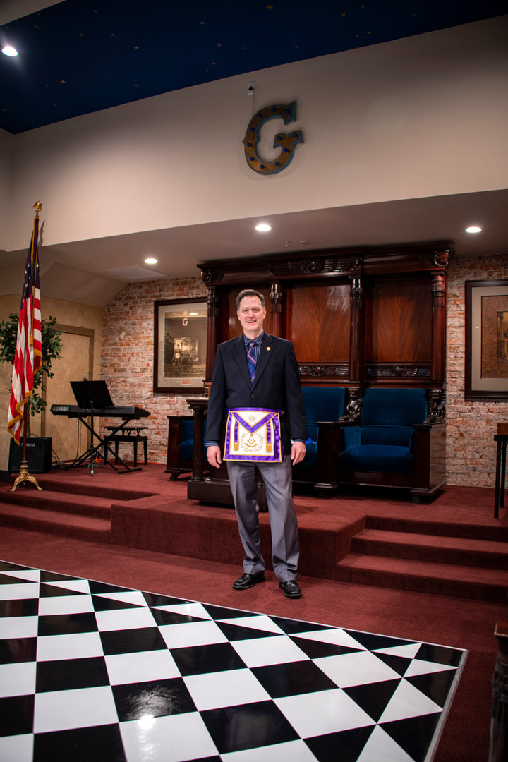 Worshipful Brother Winfield Cline