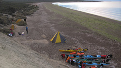 Camp sea kayak trip Peninsula valdes.JPG