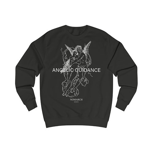 ANGELIC GUIDANCE UNISEX SWEATSHIRT (BLACK)