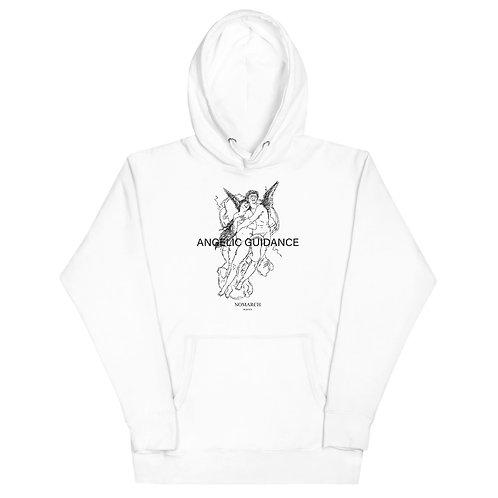UNISEX ANGELIC GUIDANCE HOODIE (WHITE)