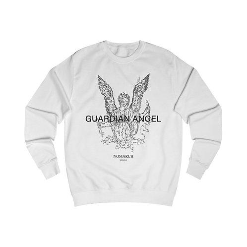 GUARDIAN ANGEL UNISEX SWEATSHIRT (WHITE)