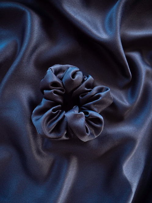 THE DESTINY BLUE MATCHING SCRUNCHIE