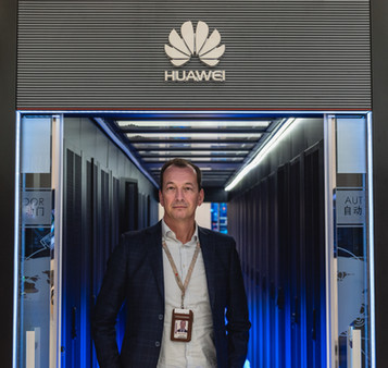 Edwin Diender (艾德文), Huawei's Chief Digital Transformation Officer
