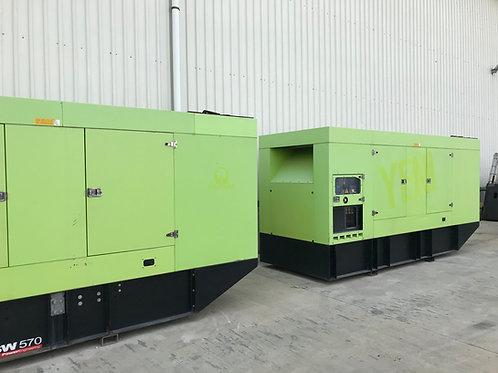630 kVA MTU jeneratör setleri
