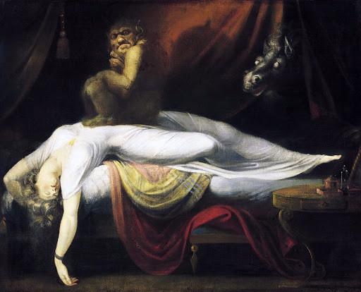 А. Фюссли «Ночной кошмар»
