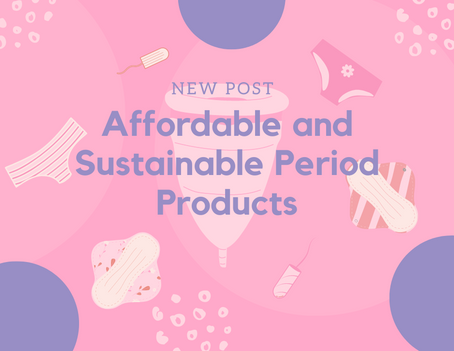 Affordable and Sustainable Period Products