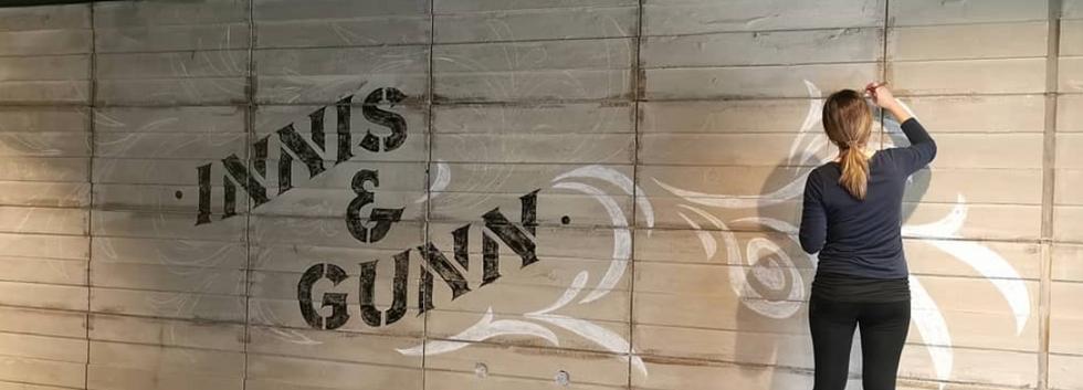 Innis & Gunn Mural