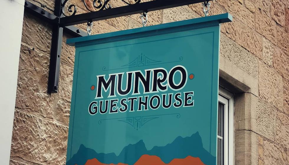 Munro Hanging Sign