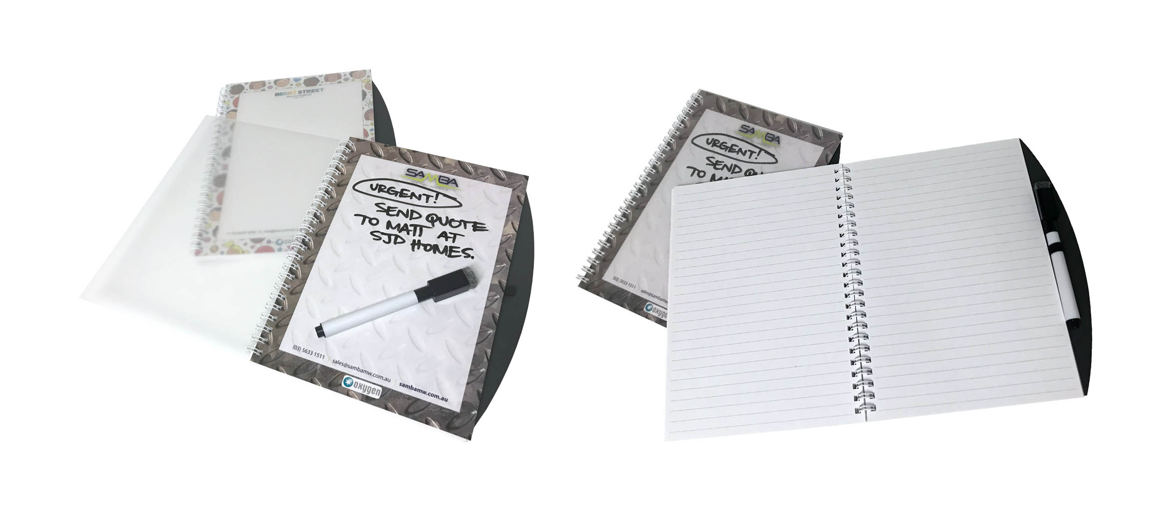 Memo Whiteboard Notebook