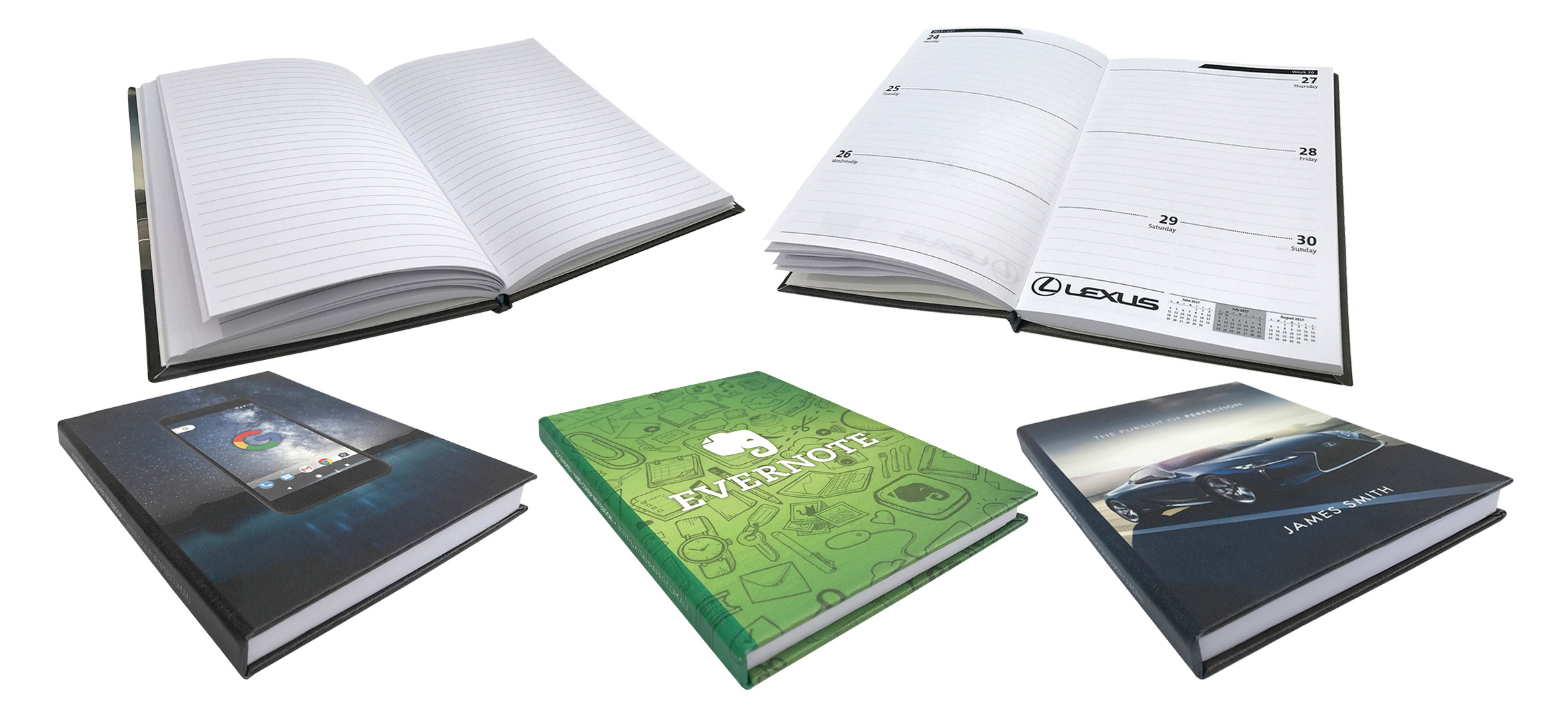 PU Hard Cover Note Books