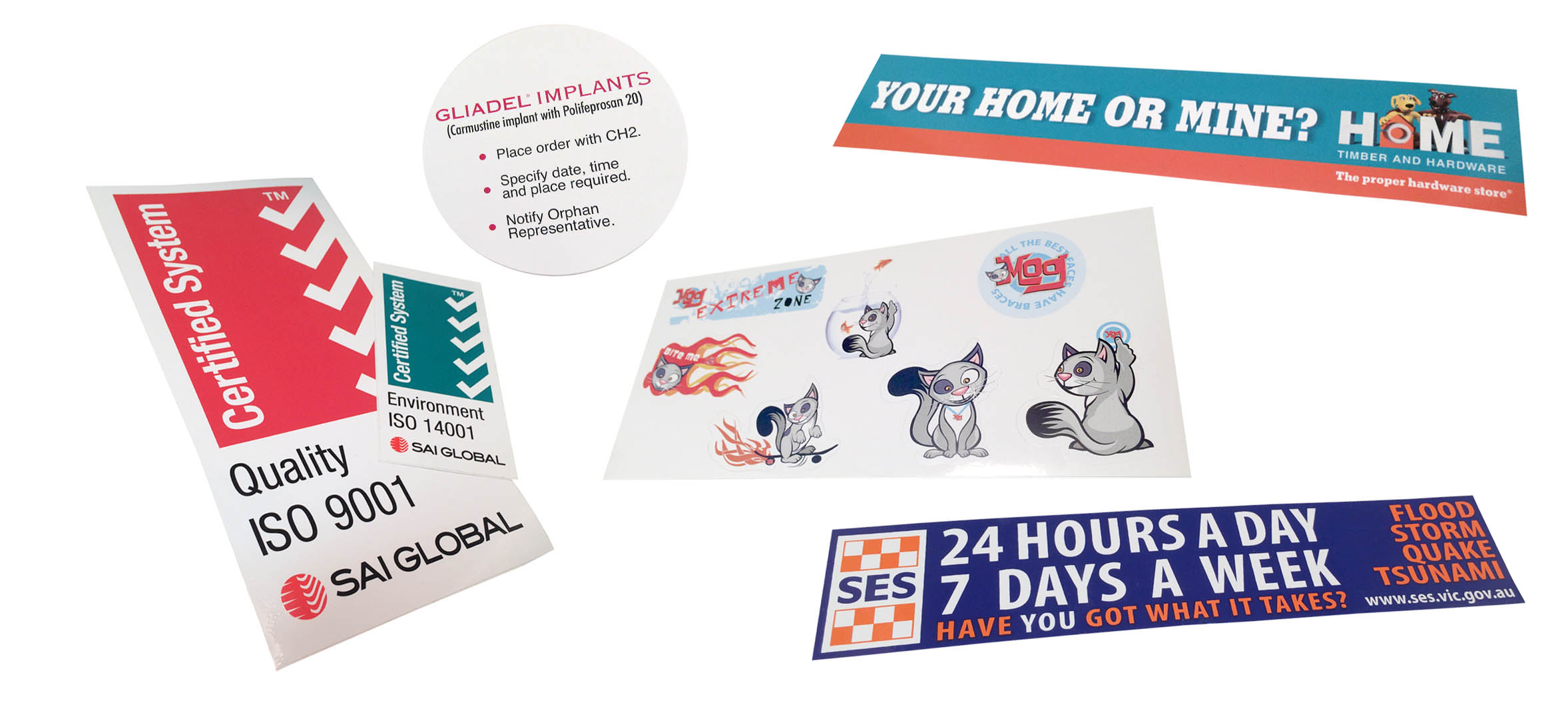 Paper/Vinyl Stickers
