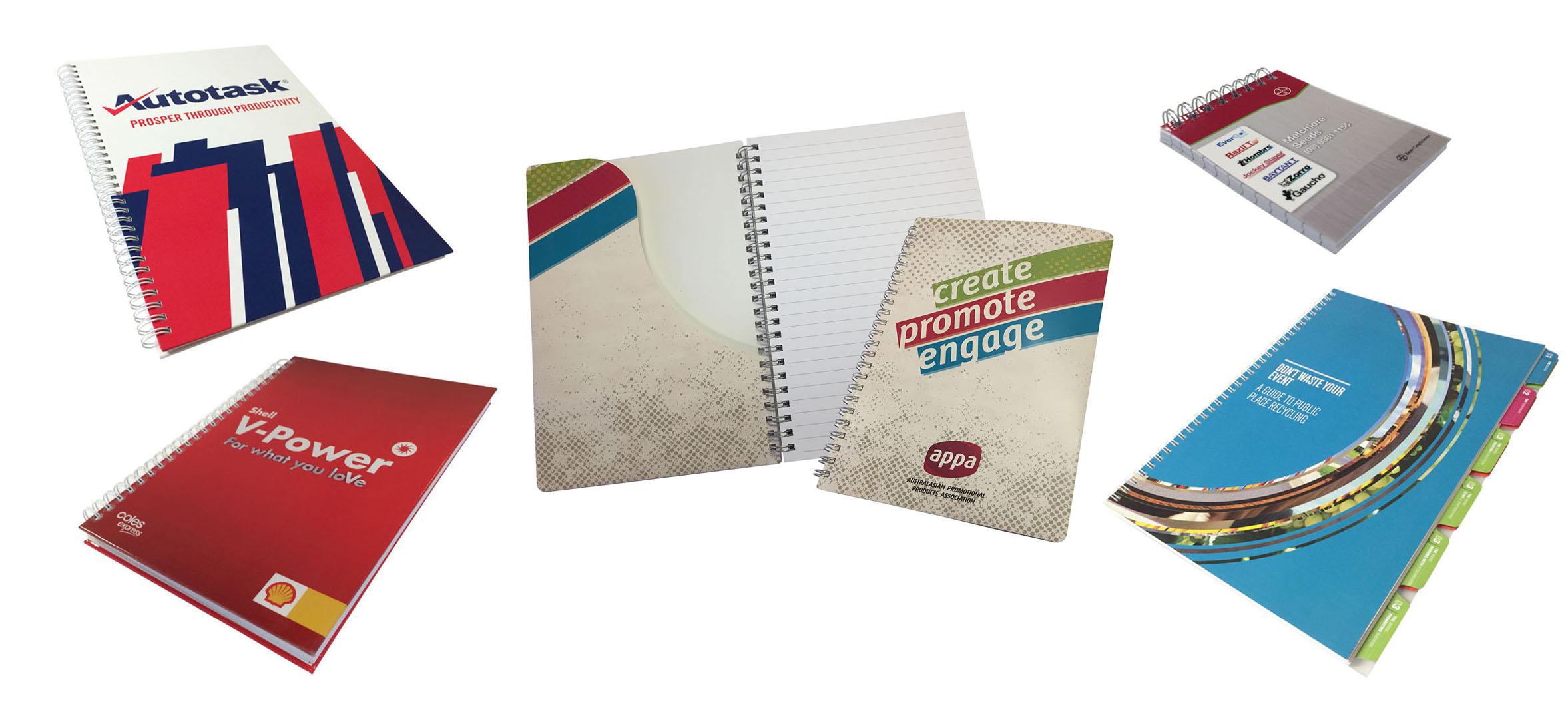 Wire Bound Notebooks