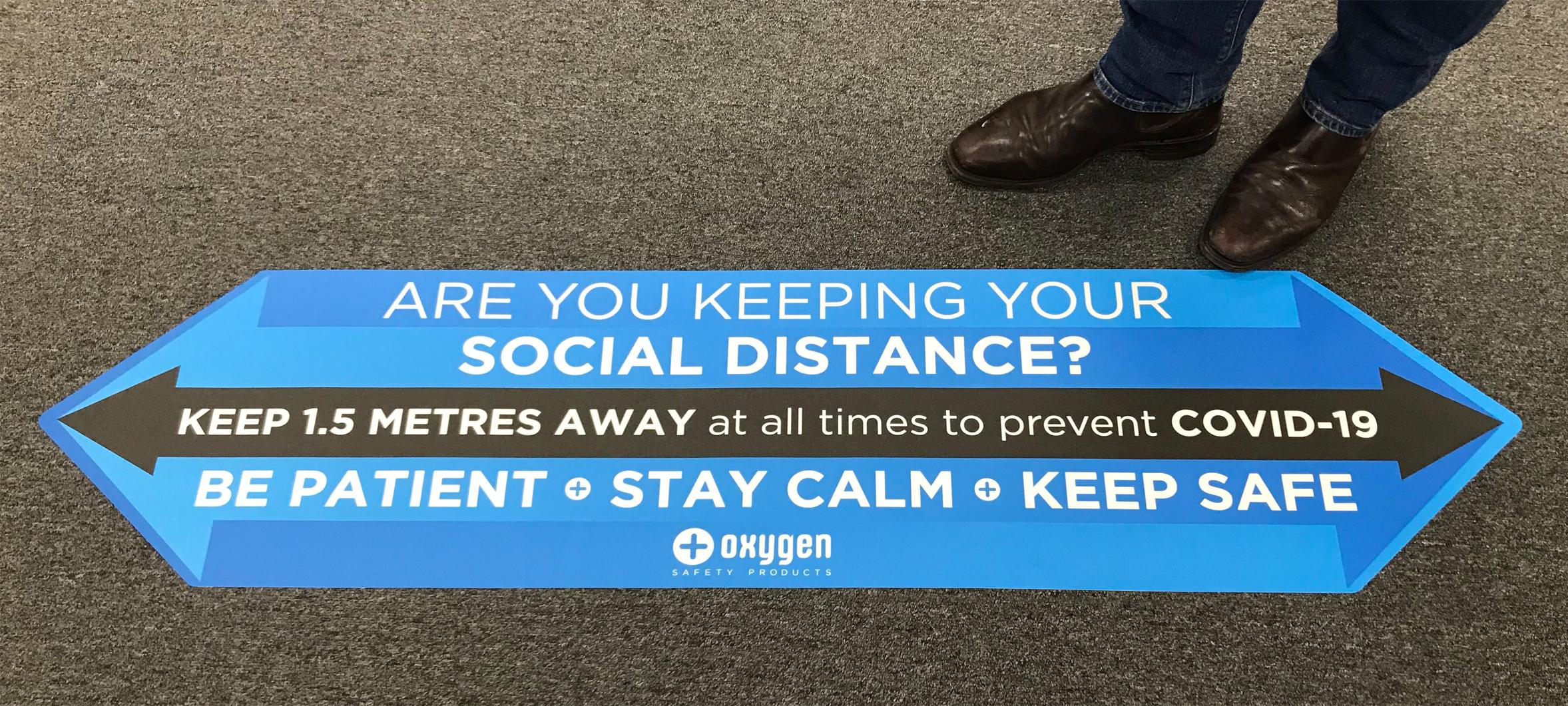 Social Distance Grip Grafix
