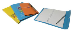 A6 / A5 Notebook with Pen Elastic