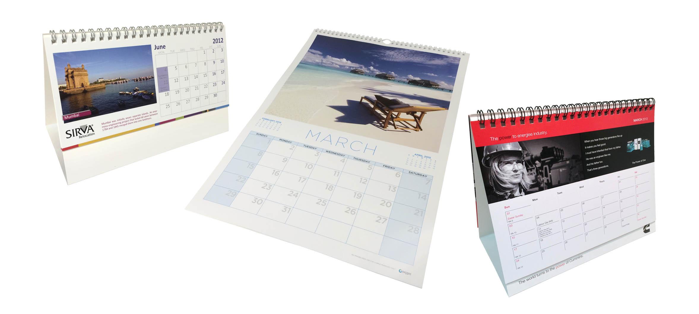 Wire-Bound Calendars
