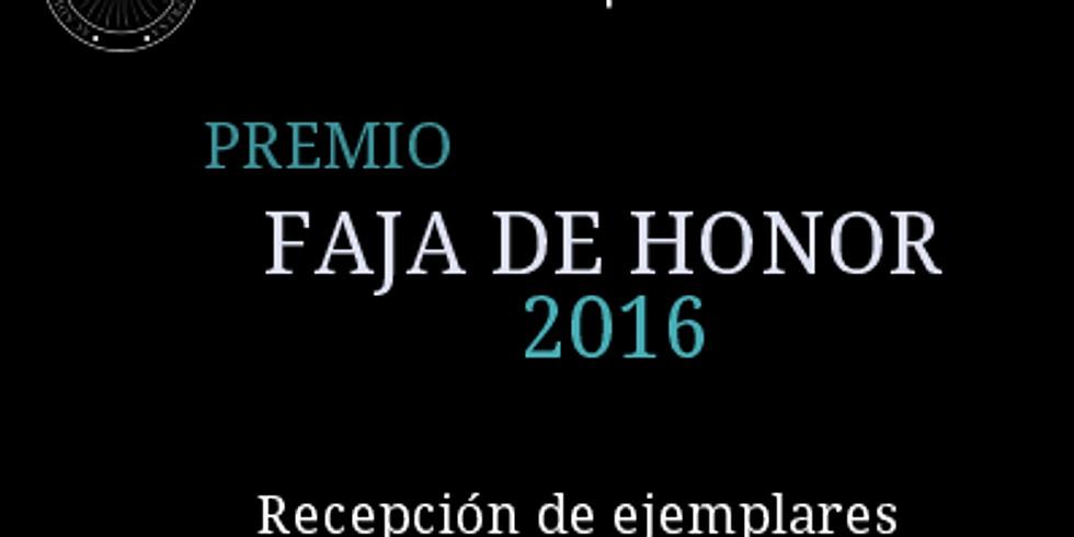 Dictamen Premio Faja de Honor ANCEM