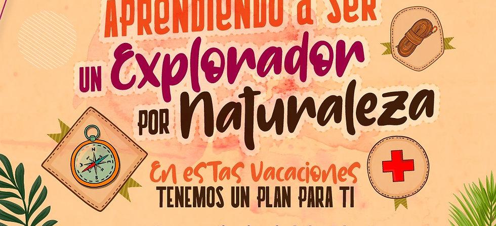Curso virtual: Aprendiendo a ser un explorador por naturaleza