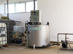 Polydilution - polyelectrolyte preparation unitdilution