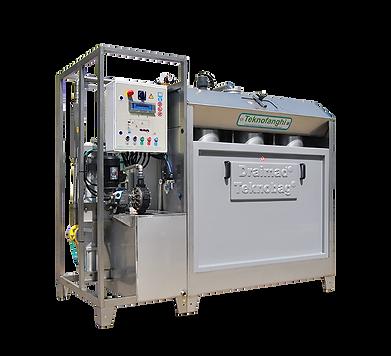 В соответствии с требованиями рынка, несколько лет назад мы дополнили модельный ряд TEKNOBAG-DRAIMAD® «блочными» системами