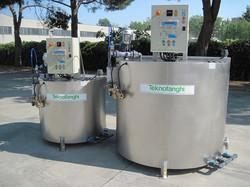 Polydilution - polyelectrolyte preparation unit