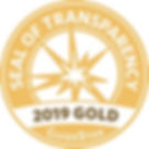 Our organization earned a 2019 Gold Seal