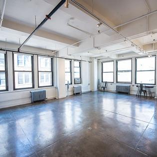 Empty Studio Setup