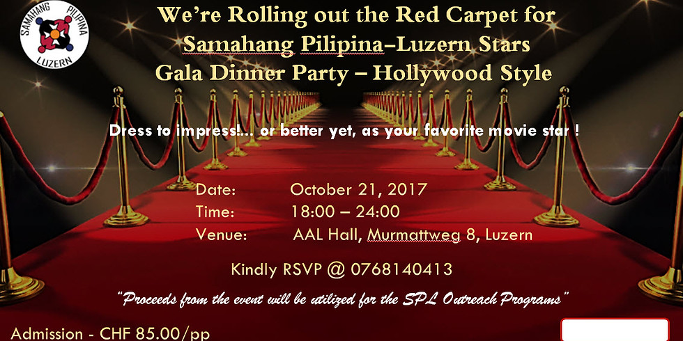 SPL Gala Dinner Party