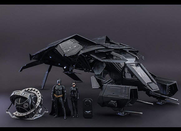 Hot Toys MMSC002 THE DARK KNIGHT RISES 1/12 THE BAT DELUXE COLLECTIBLE SET