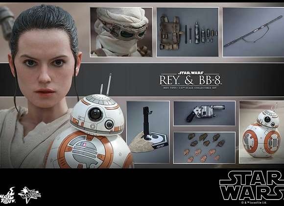 Hot Toys MMS337 STAR WARS: THE FORCE AWAKENS 1/6 REY AND BB-8