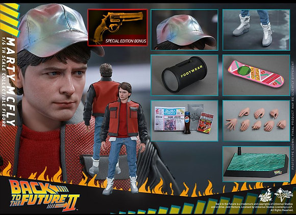 Hot Toys MMS379 BACK TO THE FUTURE PART II 1/6 MARTY MCFLY SPECIAL