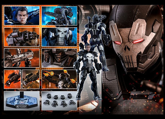 Hot Toys VGM33D28 MARVEL FUTURE FIGHT 1/6 THE PUNISHER (WAR MACHINE ARMOR
