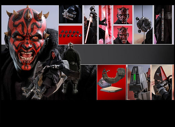 Hot Toys DX17 STAR WARS 1/6 DARTH MAUL WITH SITH SPEEDER REGULAL EDITION