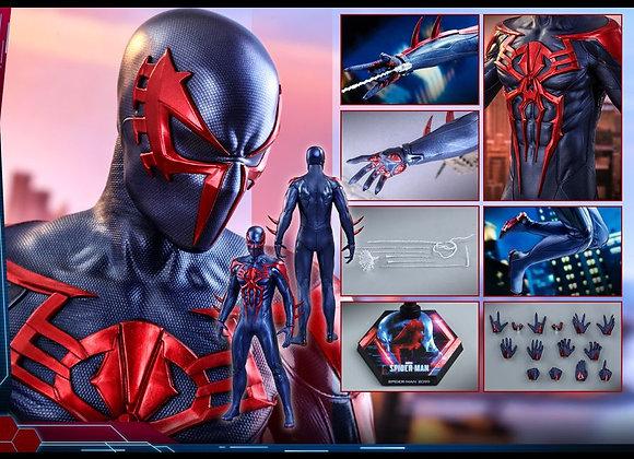 Next Round! Hot Toys VGM42 MARVEL'S SPIDER-MAN 1/6 (SPIDER-MAN 2099 BLACK